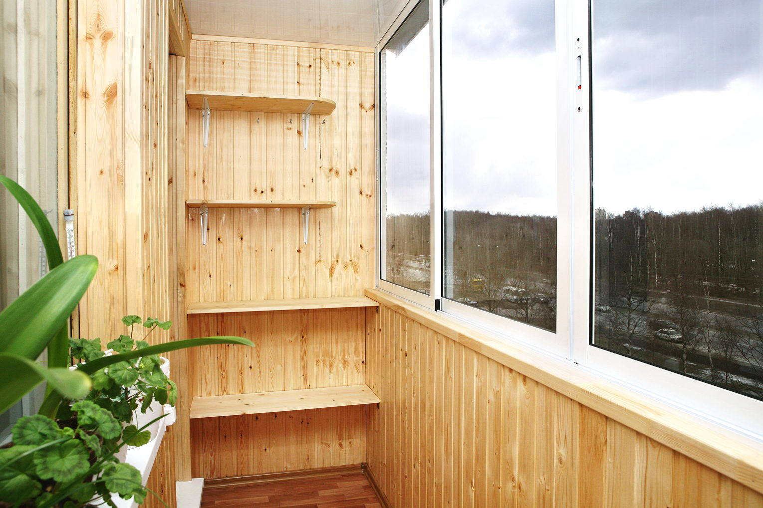 Лоджия балкон своими руками