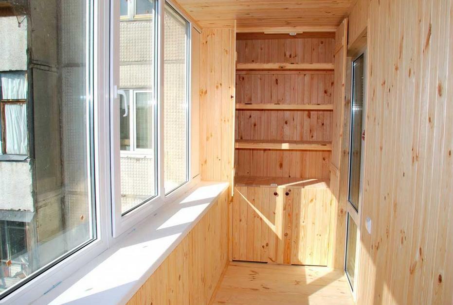 Как сделать балкон внутри квартиры